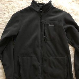 Grey Columbia Zip up sweater L